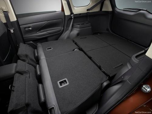 האחרון מיצובישי אאוטלנדר 2012 - 2018 החדשה - תא מטען VW-65