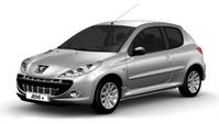 פיג'ו 206 פלוס 2011 - 2012 יד שנייה
