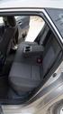 טויוטה אוריס היבירידי  2013 - 2016 הצ'בק  -  אפור  - ספסל אחורי, תא מטען
